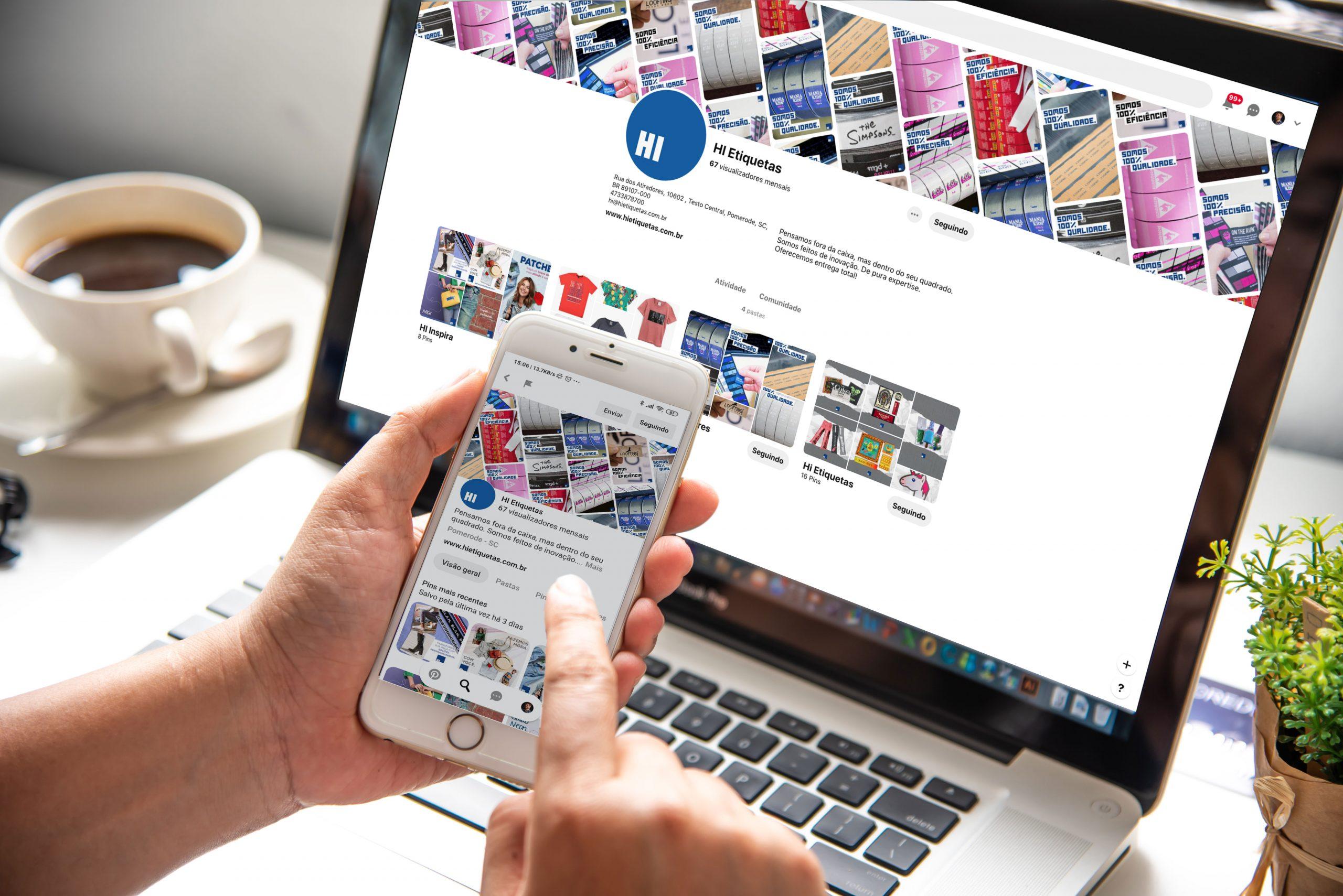 Pinterest: Uma rede social cheia de inspirações