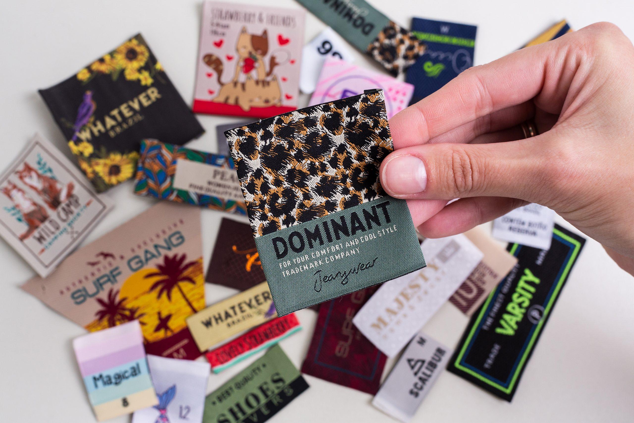 7 motivos para usar a etiqueta tecida em seus produtos