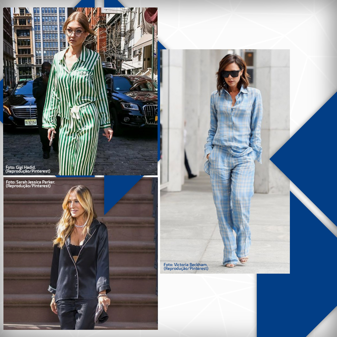 Looks com pijama: Uma tendência para dentro e fora de casa