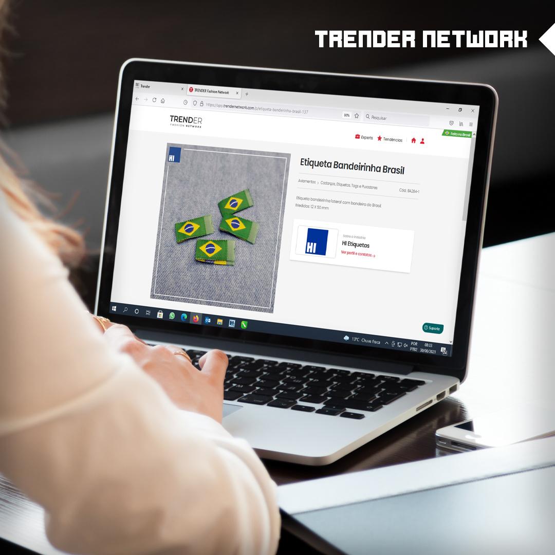Trender Network: Um ambiente 100% digital que conecta indústrias e fornecedores no mundo da moda