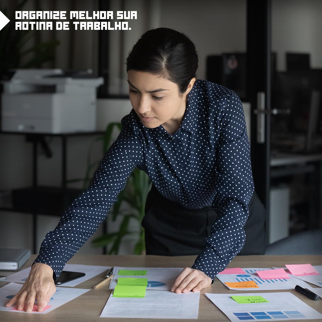 Como organizar melhor a sua rotina de trabalho?